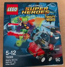 SET LEGO DC COMICS SUPER HEROES MIGHTY MICROS 76069 BATMAN VS KILLER MOTH