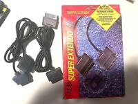 NUBY Super Nintendo SNES Extendo Controller Extension Cords w/ Original Box RARE