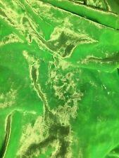 Lime Green Crushed Velvet 1 M x 150cm wide