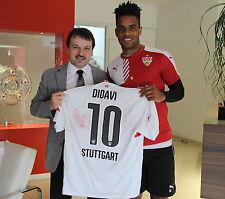 VFB Stuttgart Daniel Didavi Trikot  Handsigniert-Autogramm 2016 Gr.XL CHARITY