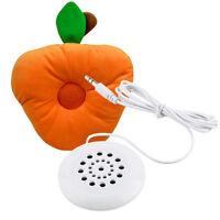 Necessory Mini White 3.5mm Pillow Speaker for MP3 MP12 Players Phones CD Radio