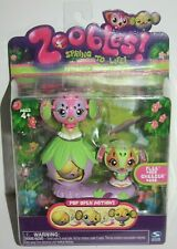 Zoobles Petagonia Collection Flee # 25 & Cheezer # 26 Figure Spring to Life NRFP