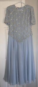 laurence kazar beaded dress