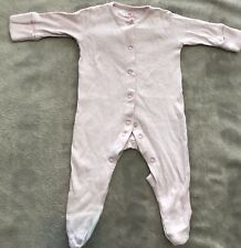 NEXT baby One Piece Pink Cotton Footed One-Piece 0000 EUC. 10 Items = $5 Post