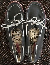 Women's Rock & Candy Casual Slip On Boat Shoes Loafer Laceup Blue Pink Boatie 11