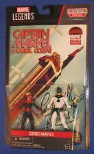 "Marvel Universe Captain Mar-Vell Figure 2-pack 2015 Hasbro 4"" MOC Avengers 118th"