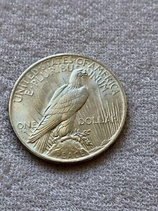 1923 - Peace Silver Dollar Coin