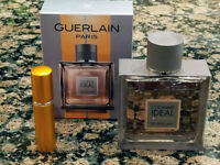 Guerlain - L'Homme Ideal EDP - 5ml / 0.17oz Sample in Refillable Atomizer