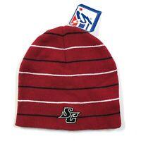 Vintage 90s South Carolina Gamecocks Red Black Beanie Hat Acrylic Cotton NWT