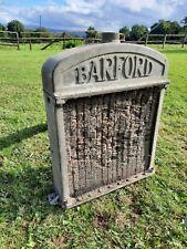 More details for vintage barford radiator old cast barford radiator garage shop  display item