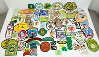 Vintage Lot of 120+ Girl Scout Brownies Patches Badges Iron-on Pins 60s 70s 80s