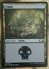 MTG Island/Swamp NM MISPRINT DUAL LAND Jumpstart 'Underground Sea' Double Print