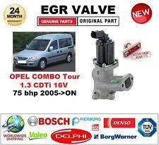 FOR OPEL COMBO Tour 1.3 CDTi 16V 75 bhp 2005-ON EGR VALVE 2 PIN D-SHAPE PLUG