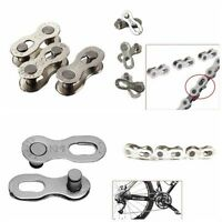 2Pcs/Pair Bike Chain Part For 6/7/8/9/10 Speed Quick Master Link Joint Connector