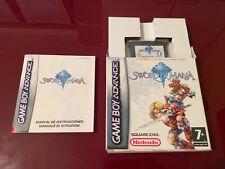 "Gioco ""Sword of Mana"" PAL per Game Boy Advance (GBA)"