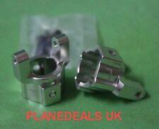 Aluminium C Hub x 2  For Axial AX10 SCX10 Silver rock crawler 1/10 L20