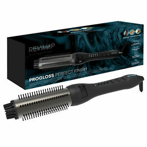REVAMP PROGLOSS PERFECT FINISH HEATED HAIR STYLING BRUSH BR-1500