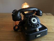 !EINMALIG!Edison Bulb Lamp Vintage steam punk, Telefon, Retro Leuchte Lampe