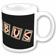 More details for incubus band name logo black white coffee mug cup boxed official gift official