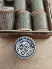 Holland Mfg. Co. Vintage Nylon Rod winding thread Size D Box of 12