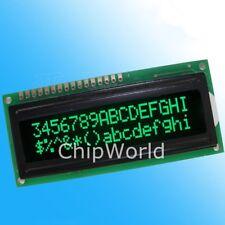 LCD1602A Green Character Dot Matrix LCD Display Module 16x2 Black Background