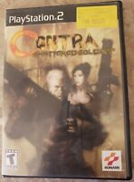 Contra: Shattered Soldier (Sony PlayStation 2, 2002) PS2 Complete Game TESTED