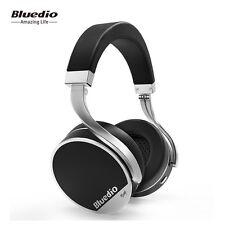 Bluedio Vinyl Plus Léger luxe Casque Bluetooth 4.1 sans fil écouteur (Noir)