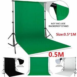 Green Screen Background Chromakey Muslin Backdrop Photo Video Studio Photogra FT