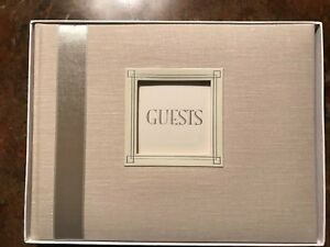 Guest Comments Book Wedding Anniversary Birthday Party C R Gibson Personalize