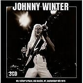JOHNNY WINTER My Father's Place Old Roslyn NY 1978 3 CD Box (2015) NEW & SEALED