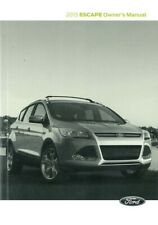 2015 Ford Escape Owners Manual User Guide Reference Operator Book