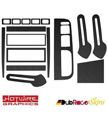 VW GOLF & BORA MK4 (4 Door Climatronic) FULL Interior Skin Kit - Carbon Vinyl