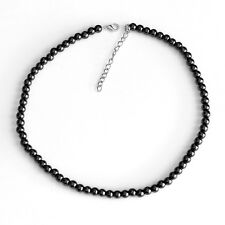 Natural Magnet Hematite Health Necklace for Arthritic Pain Blood Pressure 6mm