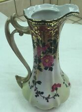 Antique Hand Painted Porcelain Flower Vase!!! Vintage in Good Condition!!!!