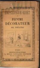 Peintre décorateur de thèâtre - Gustave Coquiot - Manuel Roret