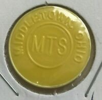 Middletown Ohio OH CTS Transportation Token
