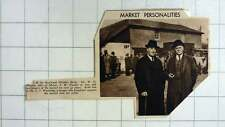 1938 At Bracknell Market Berkshire Wh Hunton And Mr Es Woolridge