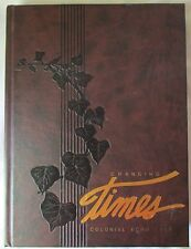 COLLEGE OF WILLIAM AND MARY 1989 COLONIAL ECHO YEARBOOK