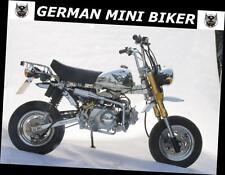 Tuning-Auspuff M1CA8 CHROM  Honda Monkey, Skyteam Skymini 50 & 125 -ANGEBOT-
