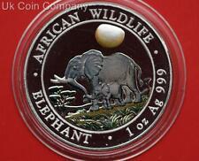 2011 Somali Republic 1oz Silver Proof 100 Shilling Coin Colored