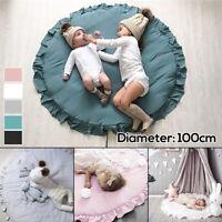 Baby Kinder Spiel Decke Spielteppich Baby Boden Krabbeln Spielen Matte Baumwolle