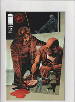 The Walking Dead #115 NM- 9.2 Cover D Image Comics All Our War Ch.1 Negan Rick