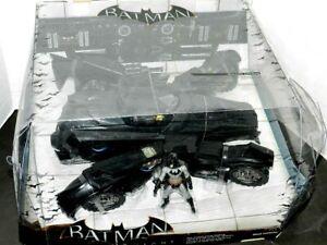 BATMAN BATMOBILE ARKHAM KNIGHT SDCC EXCLUSIVE MATTEL BHG80 NEW RARE LARGE SET