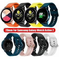 *Silicone Replacement Watch Band Strap for Samsung Galaxy Watch Active 2 20mm *