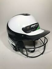 Black Rip-It Vision Pro Softball Helmet with Mask Size Small / Medium 6 to 6-7/8