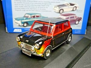 "EXTREMELY RARE 1/43 EARLY CORGI VANGUARDS AUSTIN MINI ""ON FIRE"" NLA"