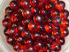 "+or - 20 POUND CASE OF CHAMPION 9//16/"" RUBY RED  TRANSPARENT MARBLES $59.99 PPD"
