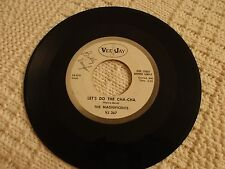 THE MAGNIFICENTS LET'S DO THE CHA-CHA/UP ON THE MOUNTAIN VEEJAY 368 PROMO M-