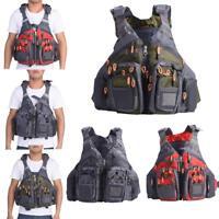 Adults Adjustable Buoyancy Fishing Life Jacket Swimming Surfing Kayak Vest CO