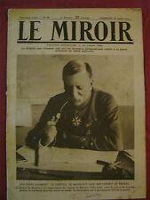 GUERRE - LE MIROIR n° 86 - 1915   Général Maud'Huy